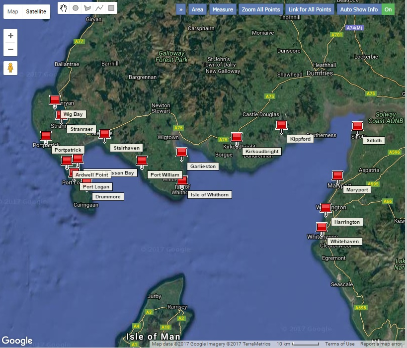 Boat Launching Sites in the Solway